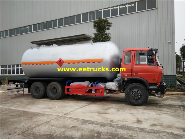 25 M3 Propane Gas Tank Trucks