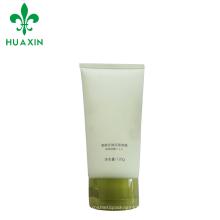 alta qualidade ver através de embalagem de tubo de gel limpador plástico com tampa flip top