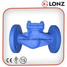 Valve de retenue à levage à bride à haute pression DIN standard à acier inoxydable