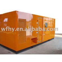 75KW с сертификацией CE Бесшумный дизельный генератор