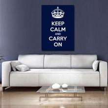 Сохраняйте спокойствие и продолжайте синюю темноту