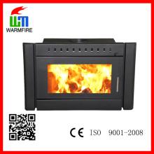 Hot Selling Classic CE Insert BI2500, cheminée en bois moulé en métal