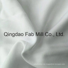 Mehrere Schicht Bleichmittel Weiß Bambus / Bio-Baumwollgewebe (QF16-2696)