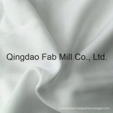 Several Layer Bleach White Bamboo/Organic Cotton Fabric (QF16-2696)