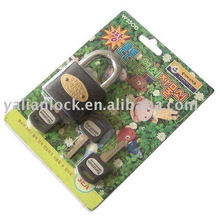 Deslizante cartão de embalagem quente cadeado