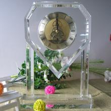 Relógio de cristal de mesa de luxo para decoração de casa