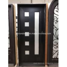 Diseño personalizado de puerta exterior para villa
