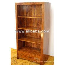 Estantería de madera Sheesham