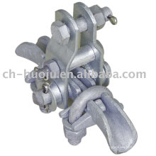 Malleable iron suspension clamp (wear-proof)