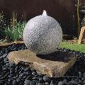 atacado pedra natural decoração do jardim bola de granito