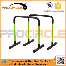 Parallettes horizontales para gimnasio Procircle con puerta ajustable
