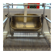 Stainless steel pig feeder trough for pigs farming equipment