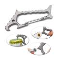 Titan Shark EDC Tool Karabiner mit Flaschenöffner