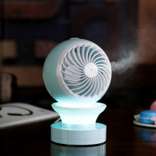 Customized for Rechargeable Mini Fan USB LED Charging Light Mini Fan DC Electronics export to United States Exporter