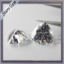 De haute qualité Tilliant Briliant Cut Cubic Zirconia Stone synthétique