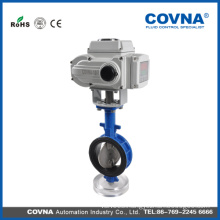 Motor Operated Butterfly Valve with wafer connection