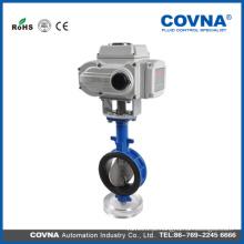 Válvula Borboleta Motorizada com conexão wafer