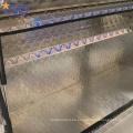 Venta al por mayor OEM impermeable de metal / cajas de herramientas de cama de camiones de aluminio Venta al por mayor OEM impermeable de metal / cajas de herramientas de cama de camiones de aluminio