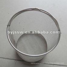 Metal Mesh Rabbish Basket For Wholesale