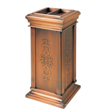 Indoor Recycling Stainless Steel Waste Bin for Lobby (YW0053)