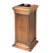 Indoor Recycling Edelstahl Abfalleimer für Lobby (YW0053)