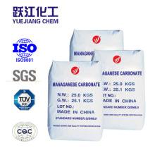 Carbonato de manganeso con bajo precio China Fabricante
