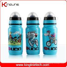 Bouteille d'eau de sport en plastique, bouteille de sport en plastique, bouteille d'eau sport de 600 ml (KL-6625)