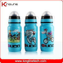 Plastic Sport Water Bottle, Plastic Sport Bottle, 600ml Sports Water Bottle (KL-6625)