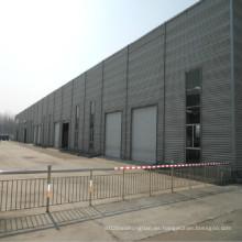 Taller de estructura de acero prefabricado con certificación Ce