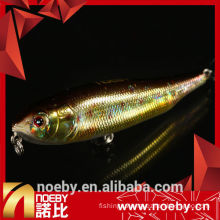 NOEBY 80mm hard spinner bait plastic lure for fishing