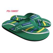 cheap fabric thong slippers flip flops for men