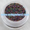 Metallic Glass Microbead Sprinkles Nail Art Caviar Beads