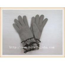 Skin color women warm fashion dress gloves