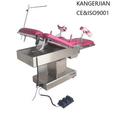 Hydraulic+Power+Source+stainless+steel+Gynecological+Table