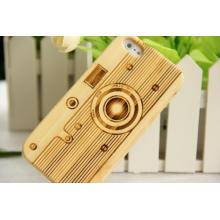 Tampa de madeira de bambu natural do telefone móvel para o iPhone / para o caso positivo do iPhone