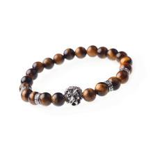 Bracelet Perles Perles oeil de tigre Pierre de guérison