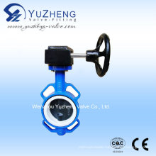 Wafer Type Worm Gear Butterfly Valve
