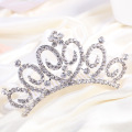 Elegant Crown Rhinestone Tiara Peigne pour mariage