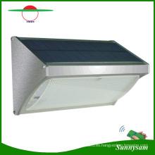 2017 Más Nuevo Productos de Iluminación Al Aire Libre Control Remoto de Energía Solar 56 LED Radar Sensor de Movimiento Montado En La Pared Luz de Seguridad Inalámbrica para Jardín, Camino, Yarda