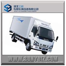 5t 120HP Isuzu 600p 4X2 Cargo Van Truck