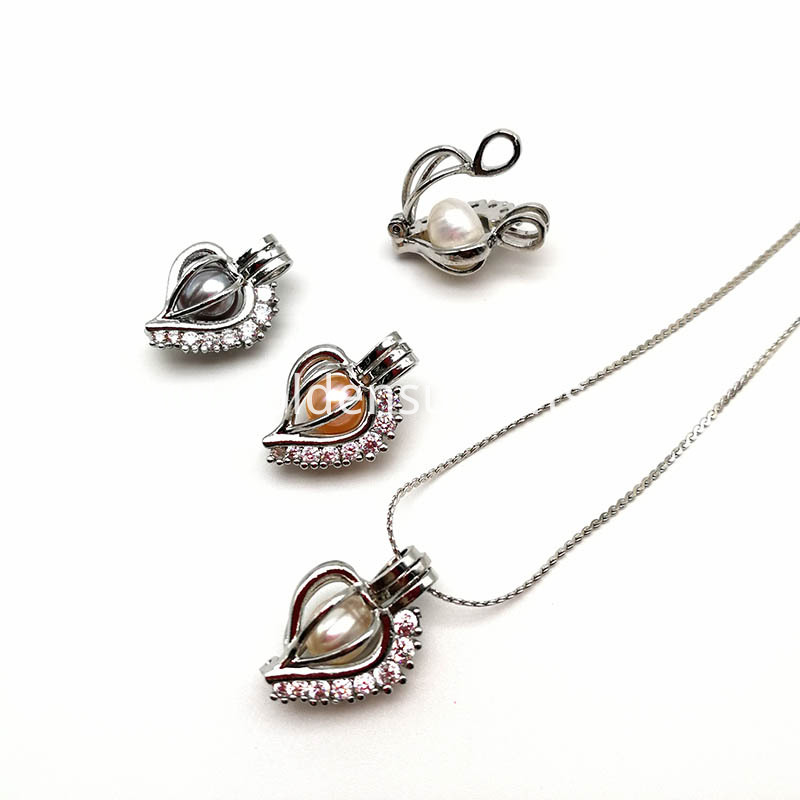 High Quality Heart Cage Pendant