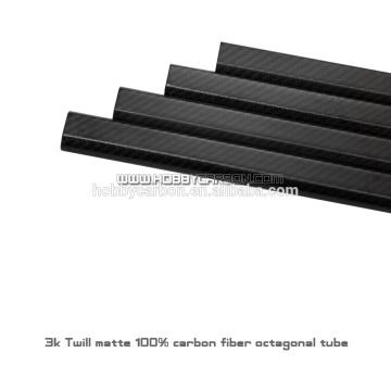 conceptions uniques tubes en carbone octogone 20x30x450mm tubes