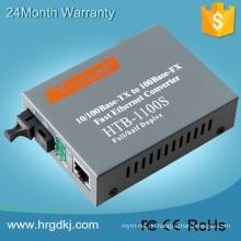 10 / 100M Netlink Faserkonverter gpon Medienkonverter mit CER, FCC, RoHS, ISO
