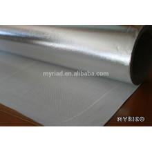 Folha de alumínio Pano de vidro Laminação / isolamento à prova de fogo