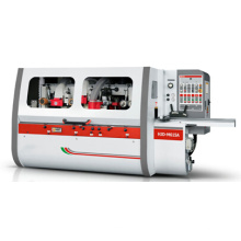 Four side moulder for wood window making machine