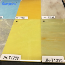 Glitter solid surface crack resistant acrylic marble plastic sheet