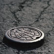 Couverture de trou d'homme en fonte ductile extérieure personnalisée en Chine