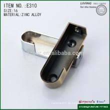 Aleación magnífica oculta el apoyo oval de la pipa para el guardarropa