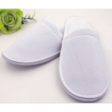 Hotel Slipper, Top Quality Velvet Hotel Slippers with Customized Logo