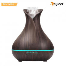 400ml Wood Grain Fragrance Essential Oil Diffuser Humidifier